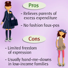 Pros and Cons of Having Uniforms : School Uniform
